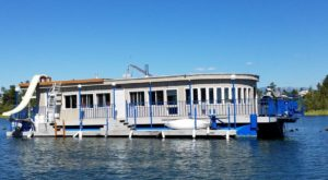 Get Away From It All With A Stay In This Incredible Montana Houseboat