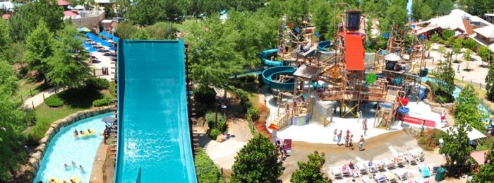 geyser falls is one of the best water parks in mississippi