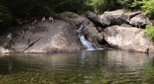 The Hike To This Secluded Waterfall Beach In Vermont Is Positively Amazing