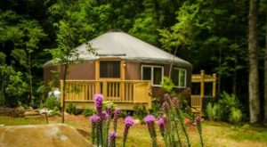 Stay In This Unparalleled North Carolina Yurt For A Night Of Pure Magic