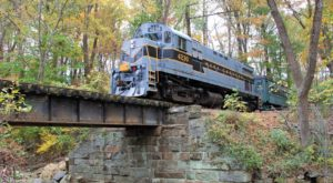 Ride The Rails Through Pennsylvania's Countryside On This Historic Train