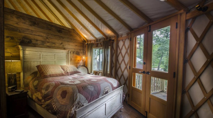 Stay In This Unparalleled North Carolina Yurt For A Night
