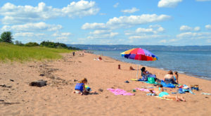 Sink Your Toes In The Sand At The Longest Beach In Minnesota