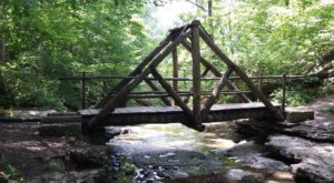 8 Out-of-This World Hikes In Indiana That Lead To Fairytale Foot Bridges
