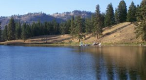 This Secluded Lake In Montana Might Just Be Your New Favorite Swimming Spot