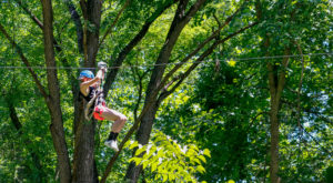 Soar Through The Treetops When You Embark On This Thrilling Canopy Tour In Ohio