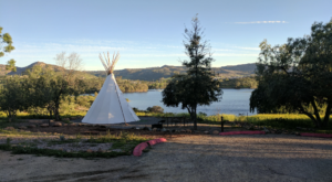 Spend The Night In A Teepee At This Unique Campground In Southern California