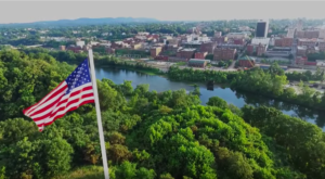 This Mesmerizing Drone Footage Takes You High Above This Virginia Town Like Never Before