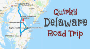 Take This Quirky Road Trip To Visit Delaware's Most Unique Roadside Attractions