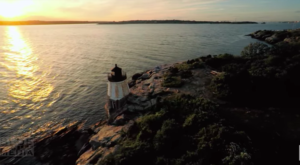 This Mesmerizing Drone Footage Takes You High Above The Rhode Island Countryside Like Never Before