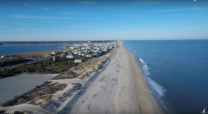 This Mesmerizing Drone Footage Takes You High Above The Delaware Seashore Like Never Before