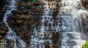 This Waterfall Staircase Hike May Be The Most Unique In All Of Montana