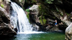 You'll Want To Spend All Day At This Waterfall-Fed Pool In Vermont
