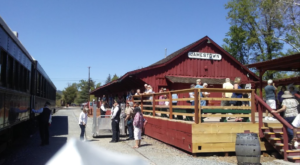 This Incredible Train Park in Northern California Will Transport You To The Old West