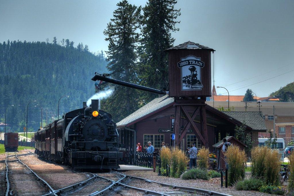 1880 Train Is Best South Dakota Historic Train Ride