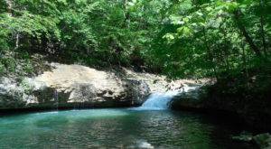 You'll Want To Spend All Day At This Waterfall-Fed Pool In Alabama