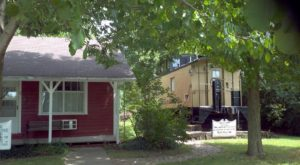Stay Overnight On An Old Train Car Right Here In Iowa