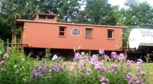 You Can Stay The Night In This Gorgeous Vintage Train Car In Massachusetts