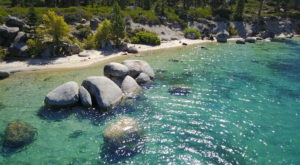 Hike To A Secret Beach In Nevada With Caribbean Blue Waters For The Ultimate Summer Adventure