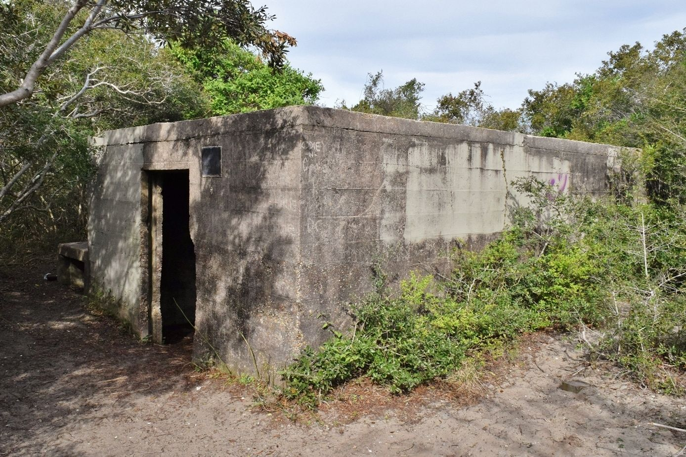 The Fort Fisher Hermit Used To Live In This WWII Bunker In