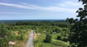 The Easy Trail In Maine That Will Take You To The Top Of The World