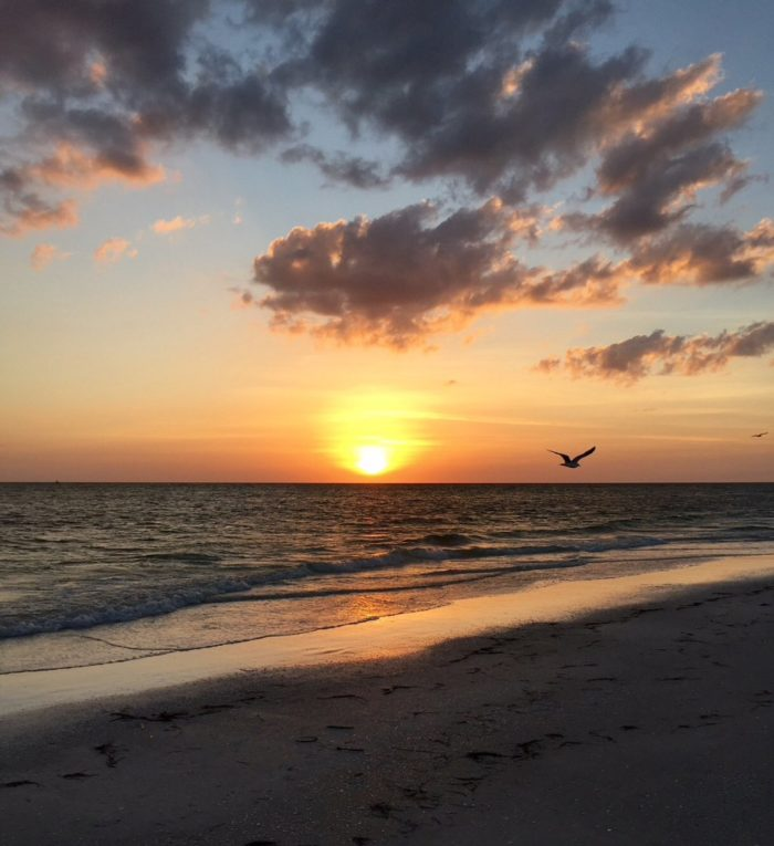 Island Beach Sunset: Bean Point Beach Is Of The Most Remote Beaches In Florida