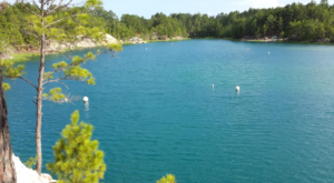 This Secluded Lagoon In Texas Might Just Be Your New Favorite Swimming Spot