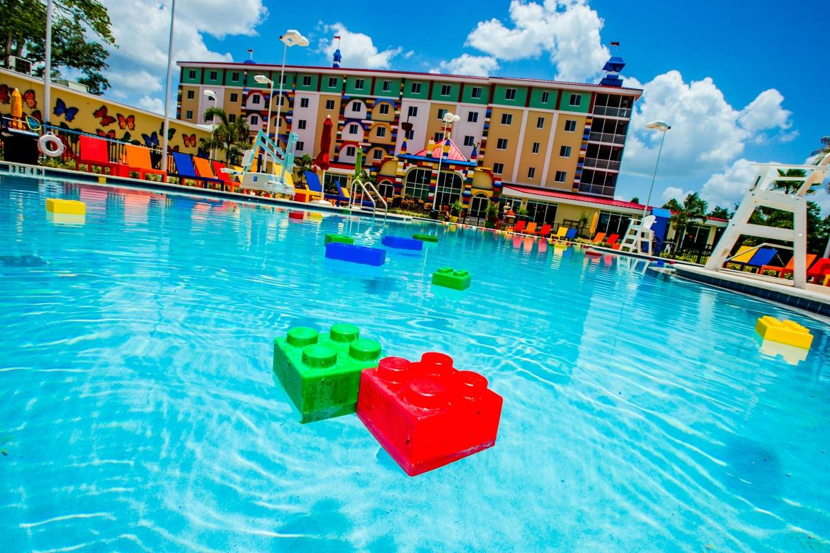 this oneofakind lego hotel in florida will make all