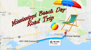 This Road Trip Will Give You The Best Mississippi Beach Day You've Ever Had