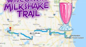 Follow This Wisconsin Milkshake Trail For The Ultimate Summer Day Trip