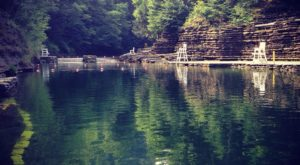 This 1-Mile Hike Near Buffalo Leads To The Dreamiest Swimming Hole