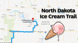 This Mouthwatering Ice Cream Trail In North Dakota Is All You've Ever Dreamed Of And More