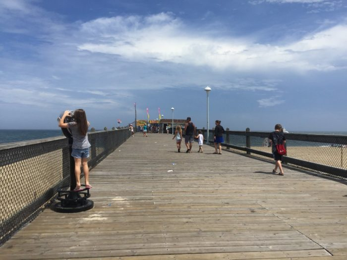 The ocean city fishing pier is a must visit spot in maryland for Ocean city md fishing pier