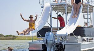 Rent A Slide Boat On This Lake In Oklahoma For A Summer Adventure To Remember