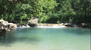 This Hidden Lagoon In Oklahoma Has Some Of The Bluest Water In The State