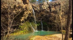 Your Kids Will Love This Easy 1-Mile Waterfall Hike Right Here In Oklahoma