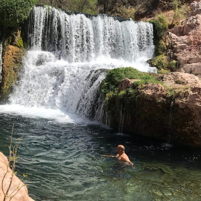 This Secluded Waterfall Lagoon In Arizona May Be Your New