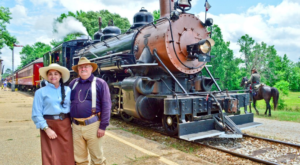 Ride The Rails Through Texas' Countryside On This Historic Train