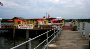 Watch Boats Come In At This Charming Dockside Restaurant In Michigan