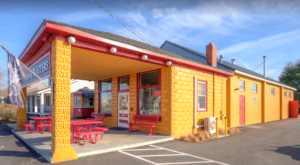 This Coffee Shop In Maryland Used To Be A Gas Station And You'll Want To Visit