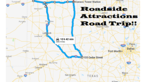 Take This Quirky Road Trip To Visit Texas' Most Unique Roadside Attractions