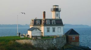 You'll Never Forget An Overnight Stay In This Magical Lighthouse In Rhode Island
