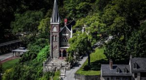 The Little-Known Church Hiding In West Virginia That Is An Absolute Work Of Art