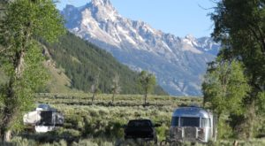 Spend A Night In Wyoming's Moose Country Campground For A Surreal Experience