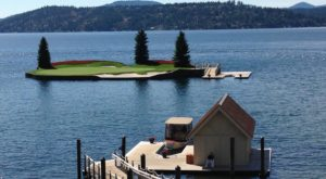 Few People Know The World's Only Floating Golf Course Is Right Here In Idaho