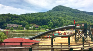 The Natural Waterpark In North Carolina That's The Perfect Place To Spend A Summer's Day