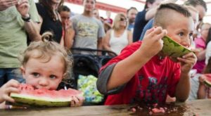 The Tiny Texas Town That Transforms Into A Watermelon Wonderland Each Year