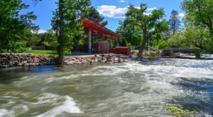 The Magical River Walk In Nevada That Will Transport You To Another World