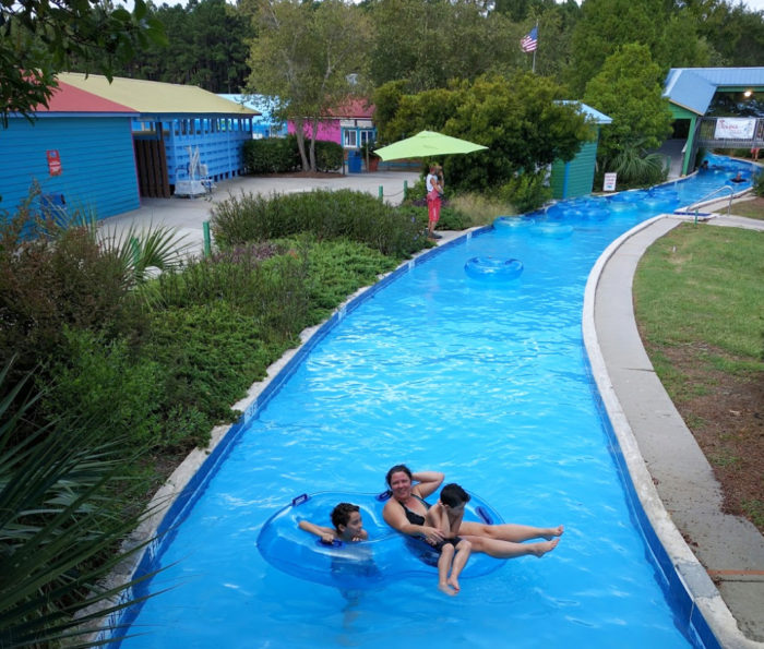 Inflatable Slide North Myrtle Beach: Myrtle Waves Water Park Has The Best Lazy River In South