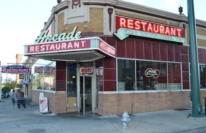 The Arcade Restaurant Facebook